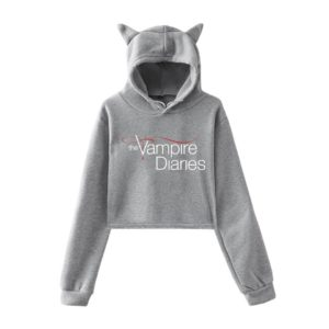 The Vampire Diaries Cropped Hoodie #1